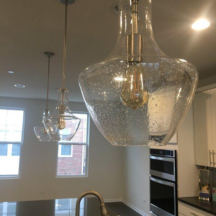 1 Light Single Schoolhouse Pendant | Bathroom Favorites In In Moyer 1 Light Single Cylinder Pendants (View 8 of 25)
