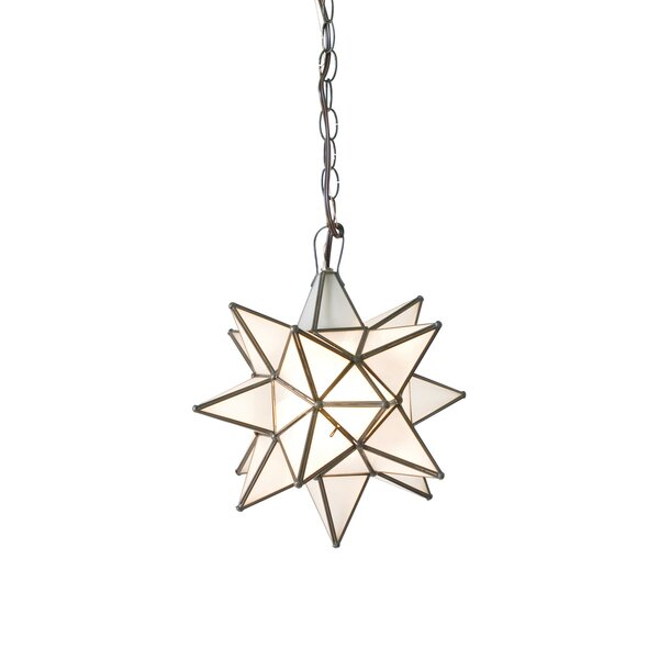 1 Light Single Star Pendant For 1 Light Single Star Pendants (Image 3 of 25)