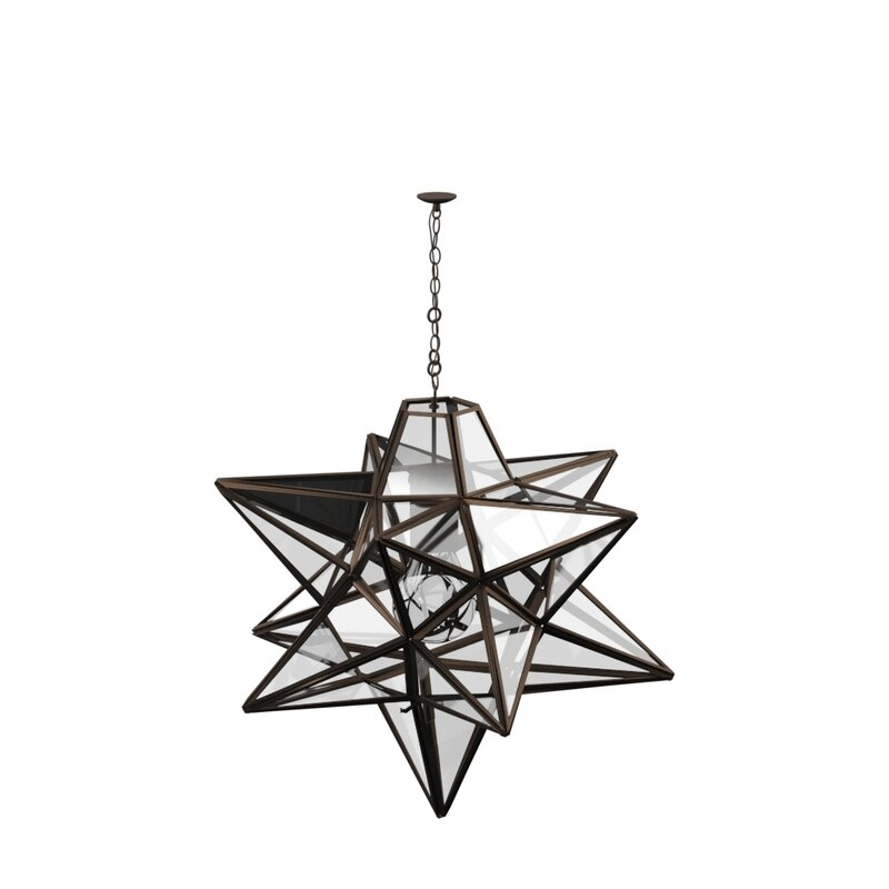 Featured Image of 1 Light Single Star Pendants