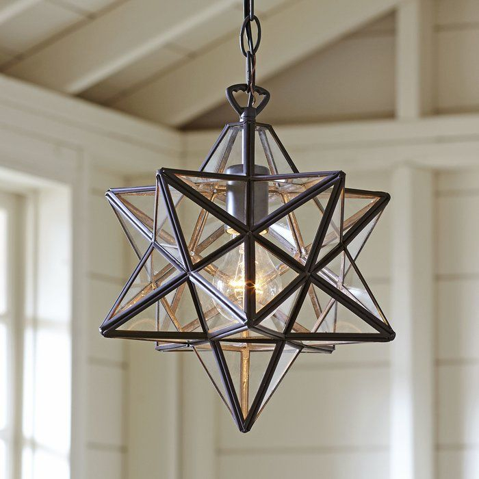 1 Light Single Star Pendant In 2019 | Home: Entrance With 1 Light Single Star Pendants (Image 6 of 25)
