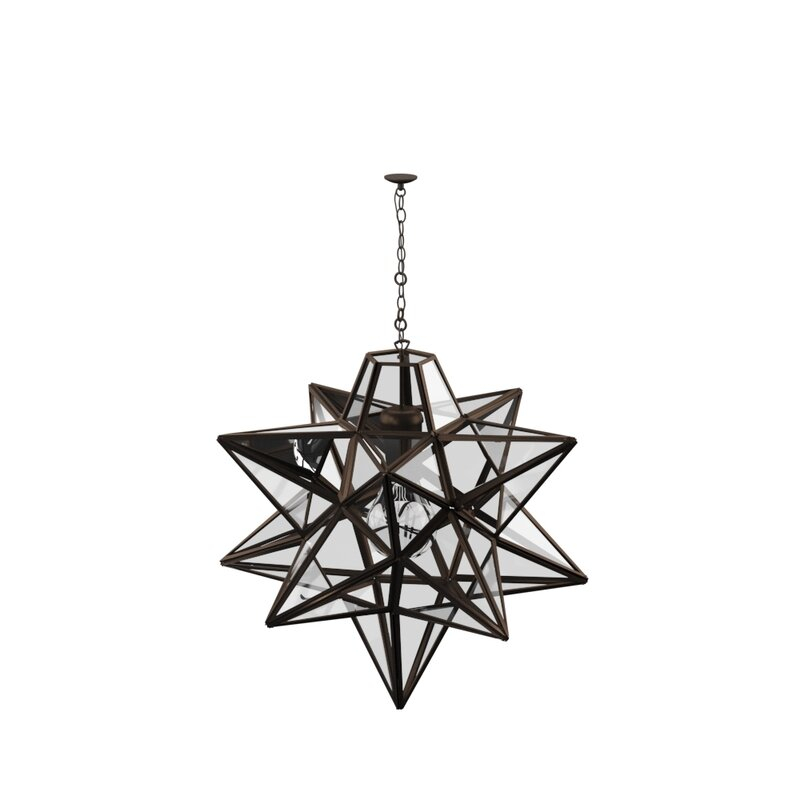 1 Light Single Star Pendant Intended For 1 Light Single Star Pendants (Image 9 of 25)