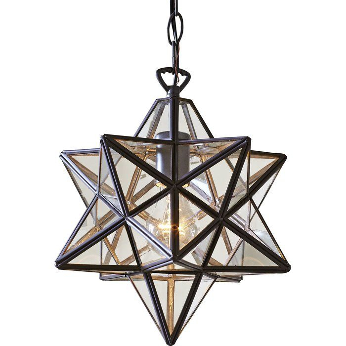 1 Light Single Star Pendant | Lighting | Pendant Lighting Inside 1 Light Single Star Pendants (Image 1 of 25)