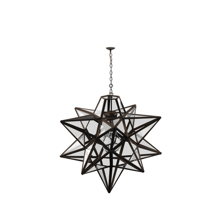 1 Light Single Star Pendant Regarding 1 Light Single Star Pendants (Image 10 of 25)