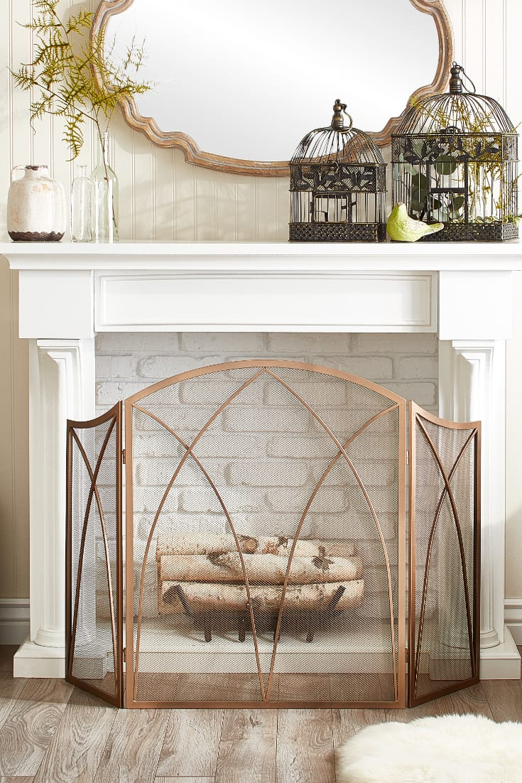 15 Mantel Decor Ideas For Above Your Fireplace – Overstock Throughout Traditional/coastal Accent Mirrors (View 17 of 20)