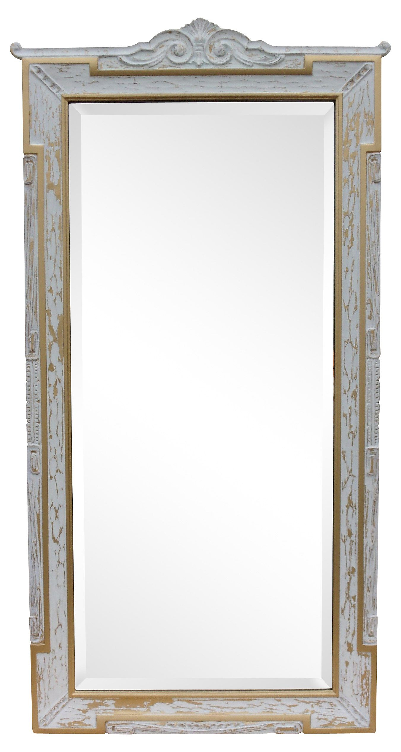1920S Neoclassical Style Mirror | One Kings Lane | Mirrors With Regard To Stamey Wall Mirrors (Image 1 of 20)
