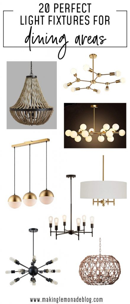 20 Light Fixtures Perfect For Dining Areas | Making Lemonade Throughout Sherri 6 Light Chandeliers (View 12 of 20)