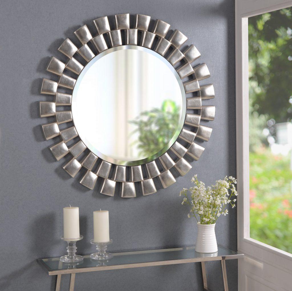 21 Cool Sunburst Mirror Interior Design – Nubika Intended For Brylee Traditional Sunburst Mirrors (View 17 of 20)