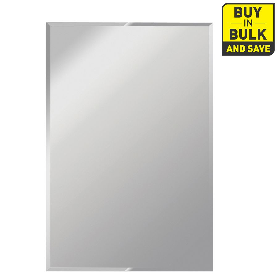 $219 Lowes Gardner Glass Products 30 In X 60 In Silver Within Traditional Beveled Wall Mirrors (View 18 of 20)