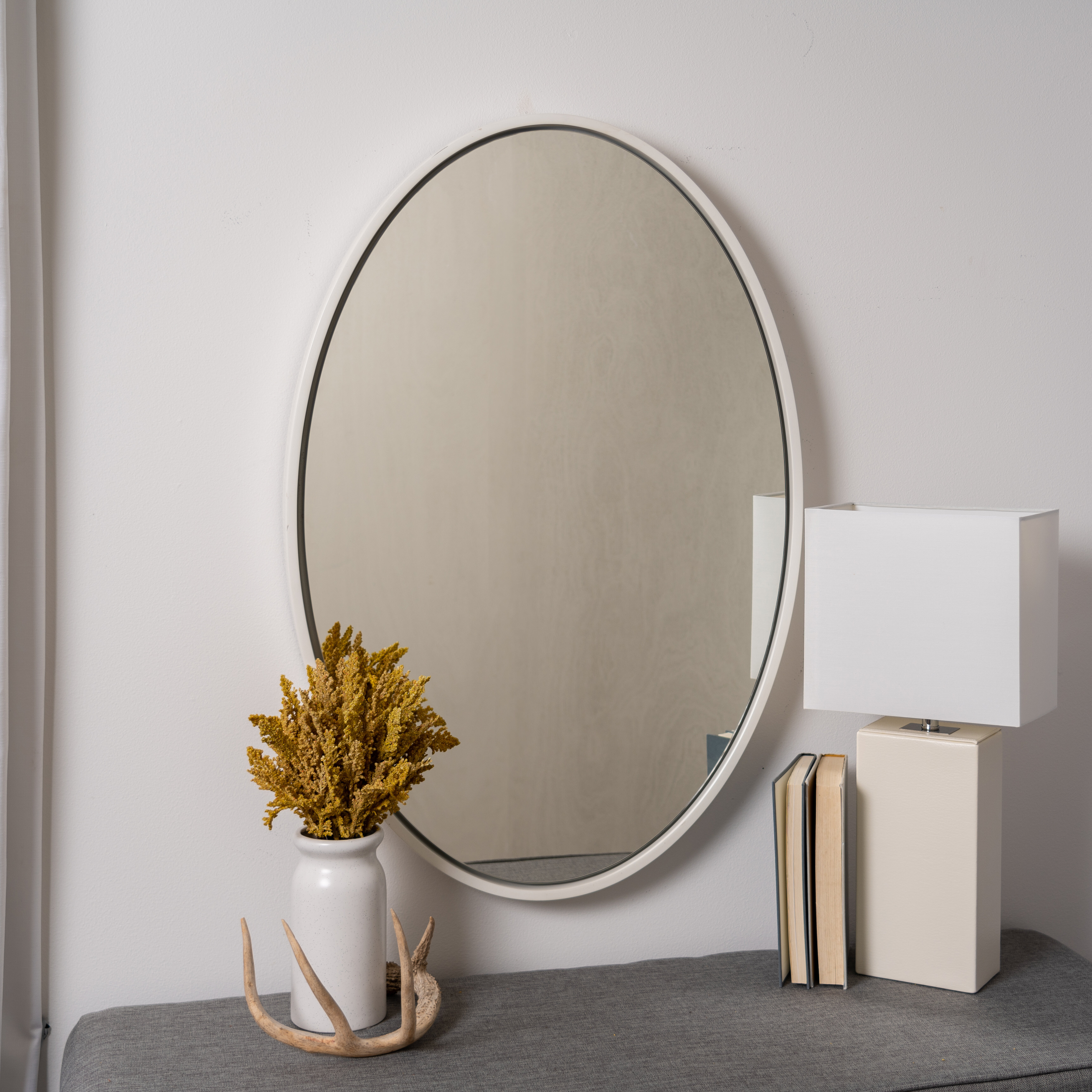 22X30 Oval Mirror | Wayfair Intended For Burnes Oval Traditional Wall Mirrors (Image 1 of 20)
