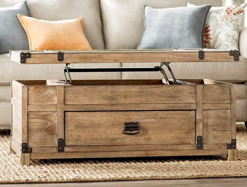26 Best Lift Top Coffee Table Ideas   Décor Outline Within Unfinished Solid Parawood Bombay Tall Lift Top Coffee Tables (View 22 of 25)