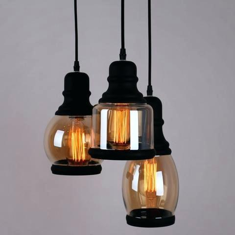 3 Light Pendant Lighting – Paperlush Inside Farrier 3 Light Lantern Drum Pendants (Photo 24 of 25)