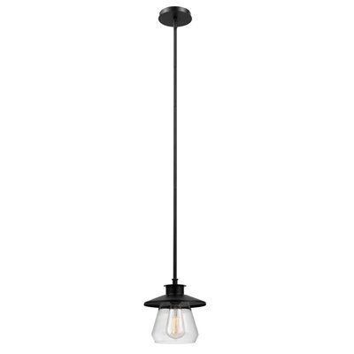 $30 Globe Electric Angelica 1 Light Modern Industrial Within Jayce 1 Light Cylinder Pendants (Image 1 of 25)