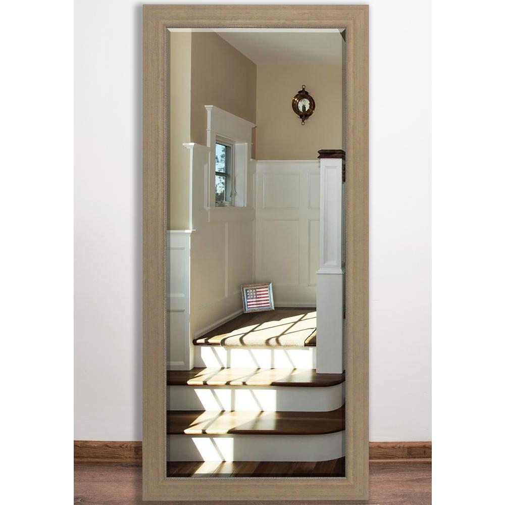 31.5 In. X 65 In. Champagne Colville Beveled Full Body Mirror Regarding American Made Accent Wall Mirrors (Photo 18 of 20)