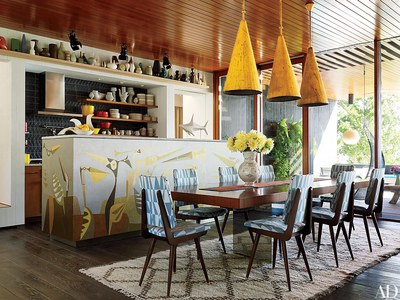 31 Kitchens With Pretty Pendant Lighting | Architectural Digest Pertaining To Moris 1 Light Cone Pendants (Photo 22 of 25)