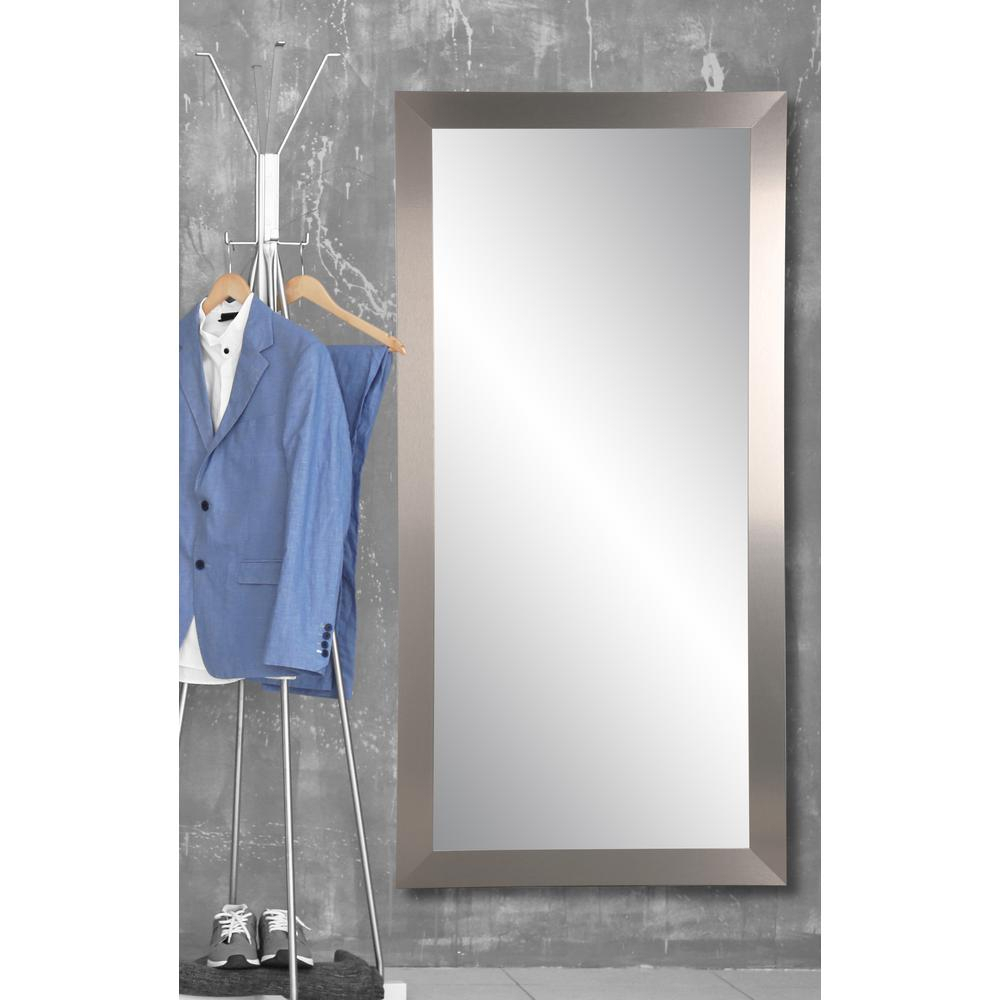32 In. X 65.5 In. Industrial Designs Floor Mirror For Industrial Full Length Mirrors (Photo 15 of 20)