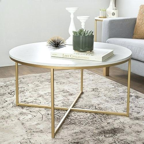 36 Inch Round Coffee Table – Vipmakeup (Image 3 of 25)