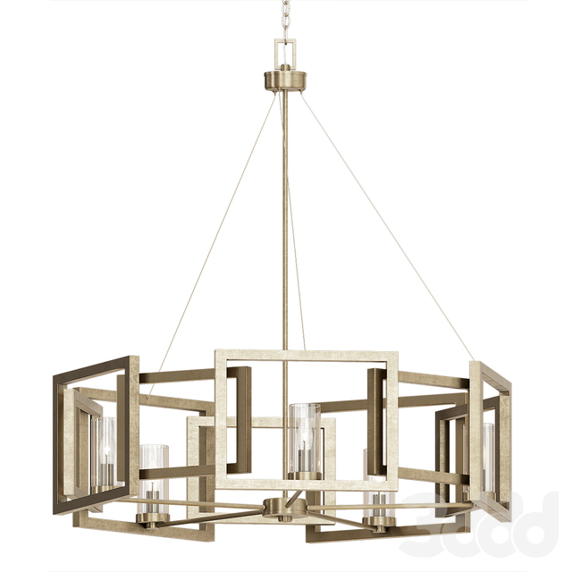 3D Модели: Люстры – Wightman Drum Chandelier Intended For Wightman Drum Chandeliers (Photo 17 of 20)