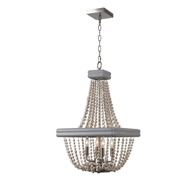 4 Light Empire Chandelier With Regard To Ladonna 5 Light Novelty Chandeliers (View 16 of 20)