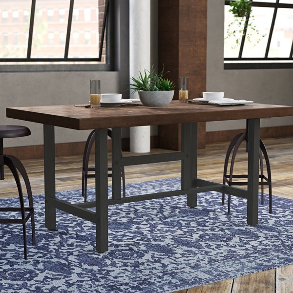40 Inch Height Table | Wayfair In Carbon Loft Lawrence Reclaimed Wood 42 Inch Coffee Tables (View 48 of 50)