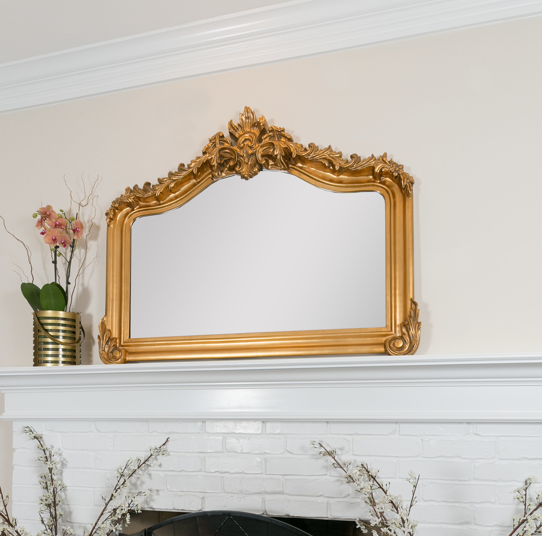 40 Inch Mirror | Wayfair Intended For Yatendra Cottage/country Beveled Accent Mirrors (View 18 of 20)