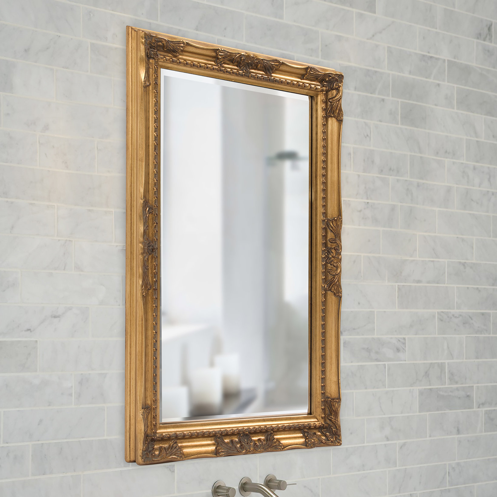 40 Inch Mirror | Wayfair Within Ulus Accent Mirrors (View 15 of 20)