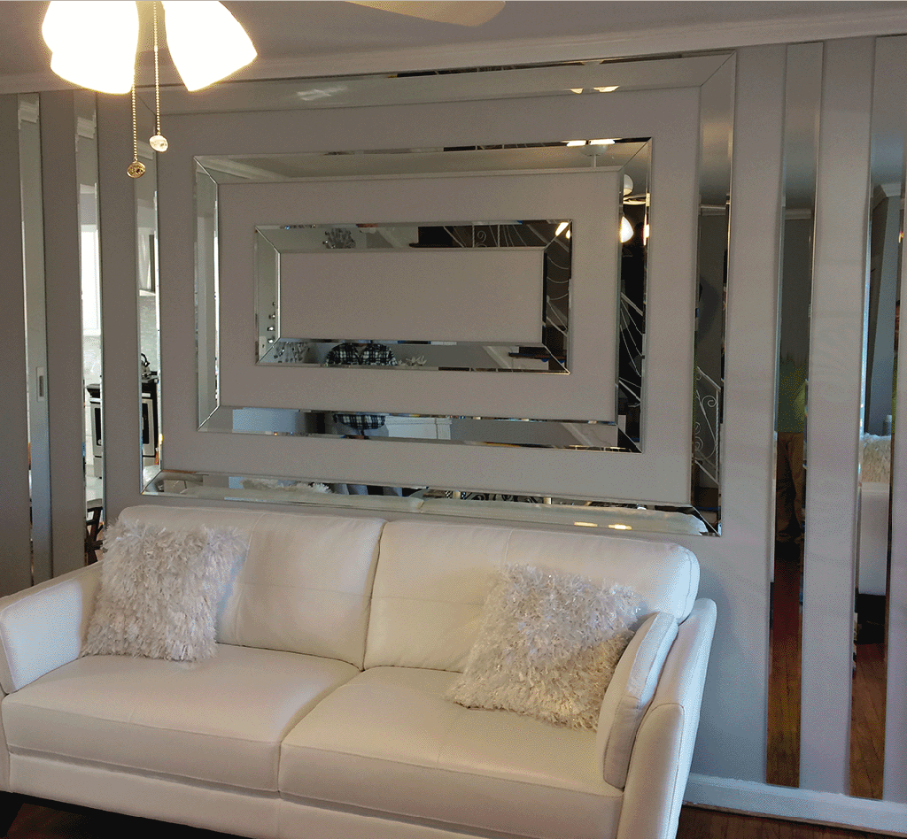 4X6 4X8 6X8 Mirrors | Custom Mirror Walls | Floor To Ceiling With Regard To Custom Mirrors (Image 1 of 20)