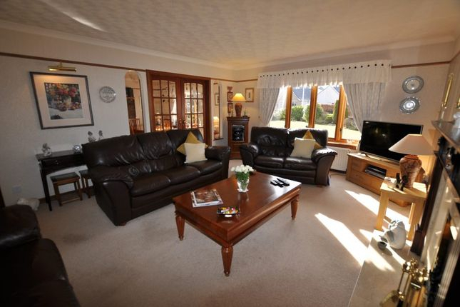 5 Bed Detached House For Sale In Springfield Croft Road With Porch & Den Urqhuart Wood Glass Coffee Tables (View 18 of 50)