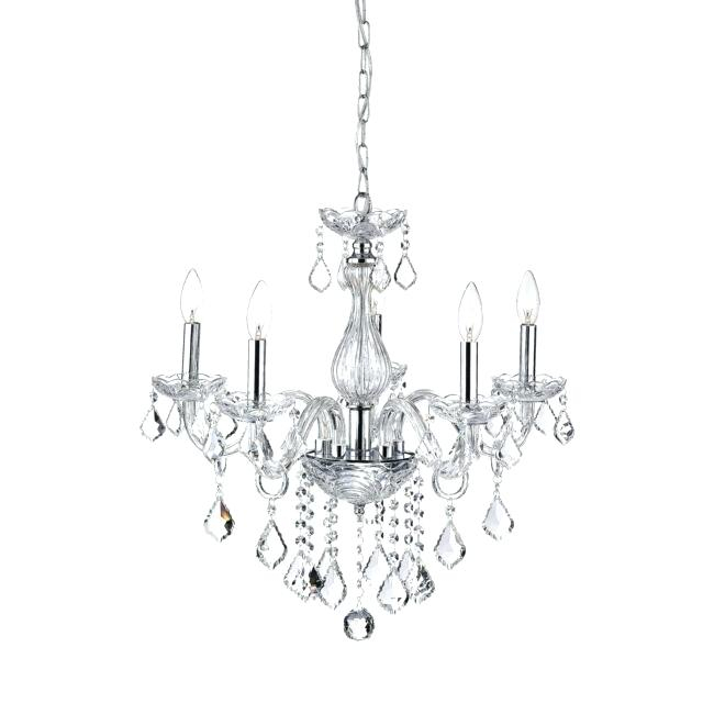 5 Light Crystal Chandelier For Verdell 5 Light Crystal Chandeliers (Image 3 of 20)