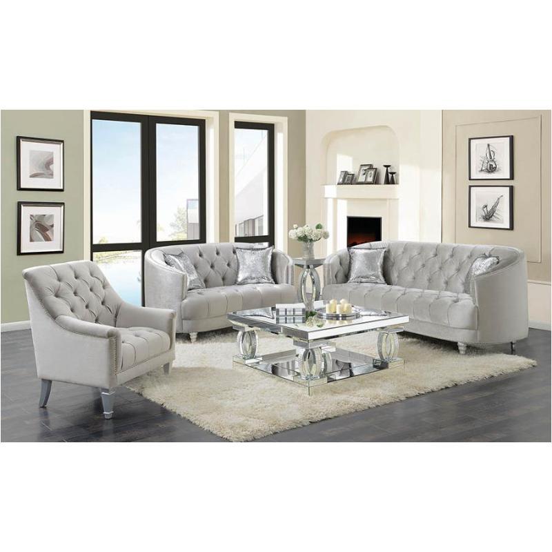 508461 Coaster Furniture Avonlea Sofa Within Coaster Company Silver Glass Coffee Tables (Image 2 of 25)
