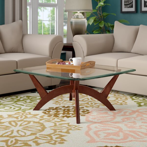 52 Inch Square Coffee Tables | Wayfair In Carbon Loft Hamilton 48 Inch Coffee Tables (View 23 of 25)