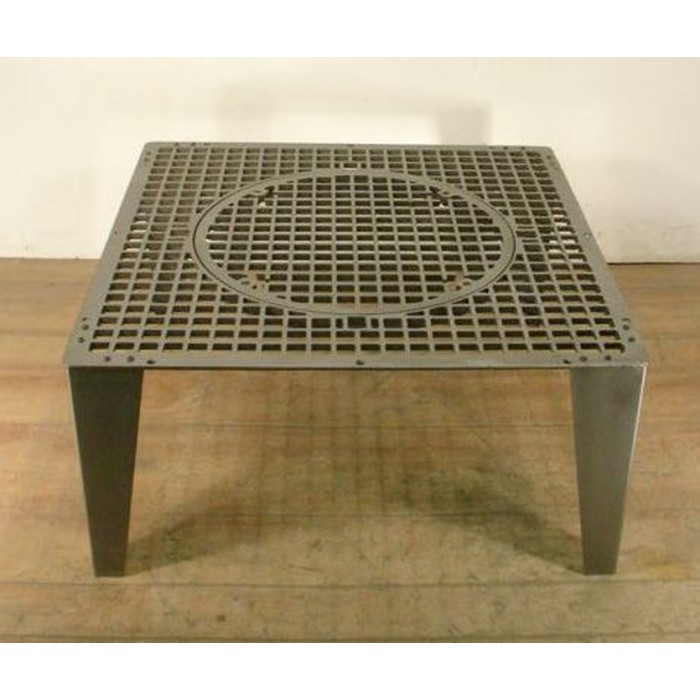 57 30 Inch Square Coffee Table, Avenue Six Merge Black 30 Throughout Paris Natural Wood And Iron 30 Inch Square Coffee Tables (View 20 of 25)