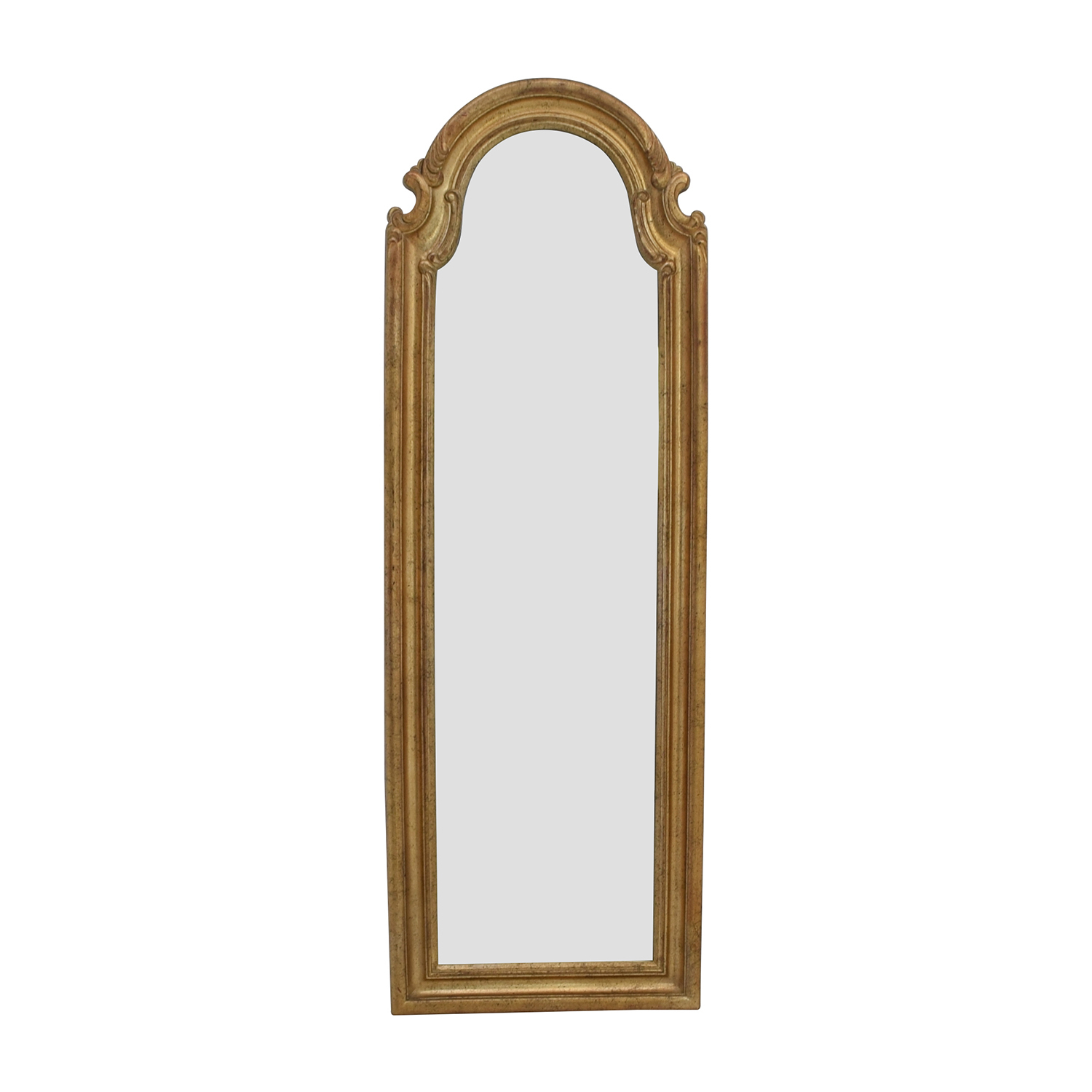 59% Off – Bombay Company Bombay Co Antique Gold Wall Mirror / Decor In Gold Arch Wall Mirrors (View 15 of 20)