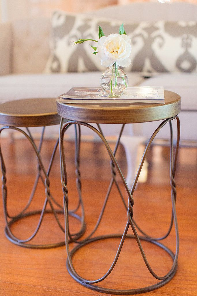 6 Coffee Table Alternatives For Tiny Apartments | Home Within Carbon Loft Fischer Brown Solid Birch And Iron Rustic Coffee Tables (View 25 of 25)