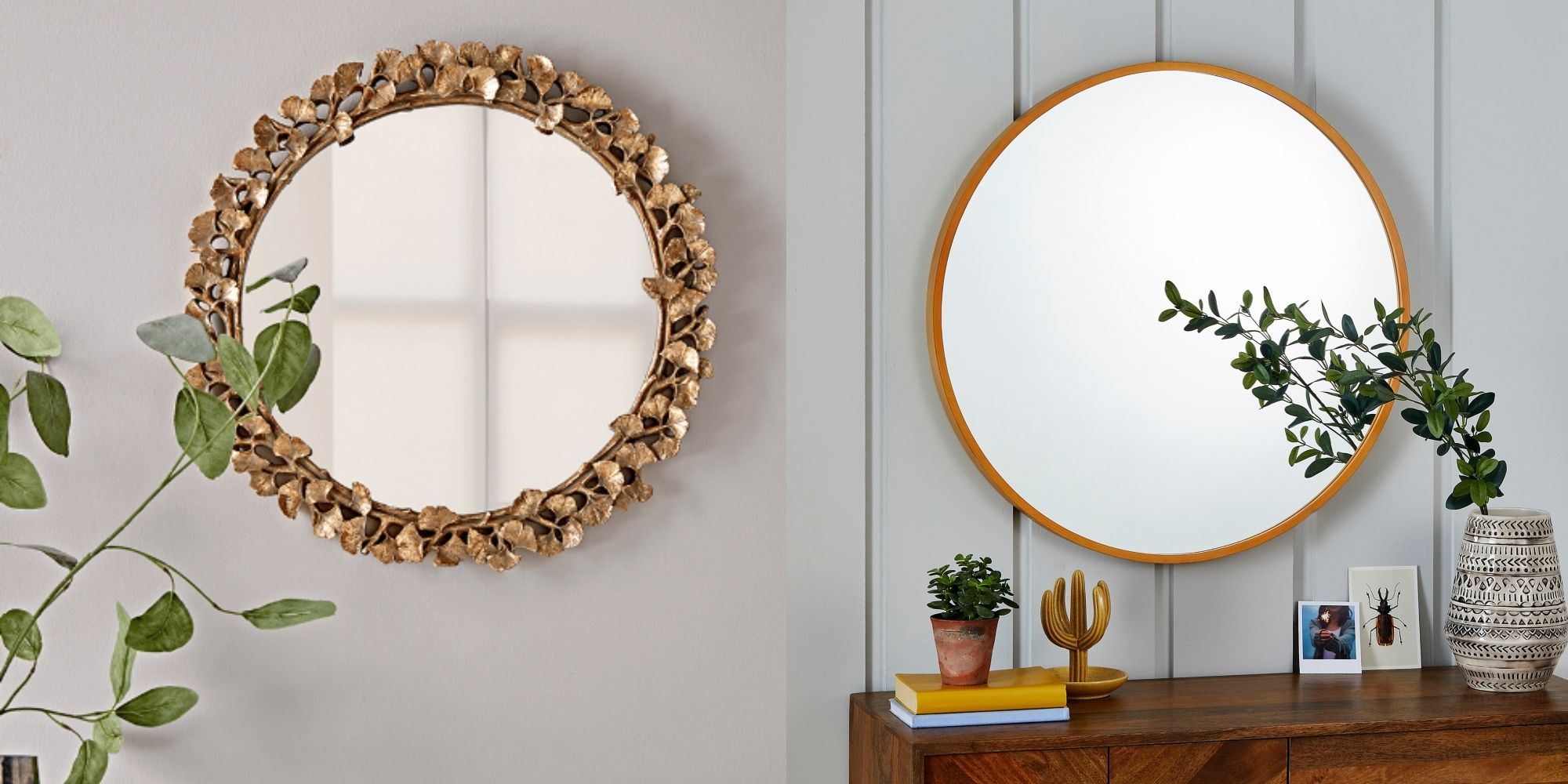 7 Statement Round Wall Mirrors To Buy For Your Home For Wall Mirrors (Image 2 of 20)