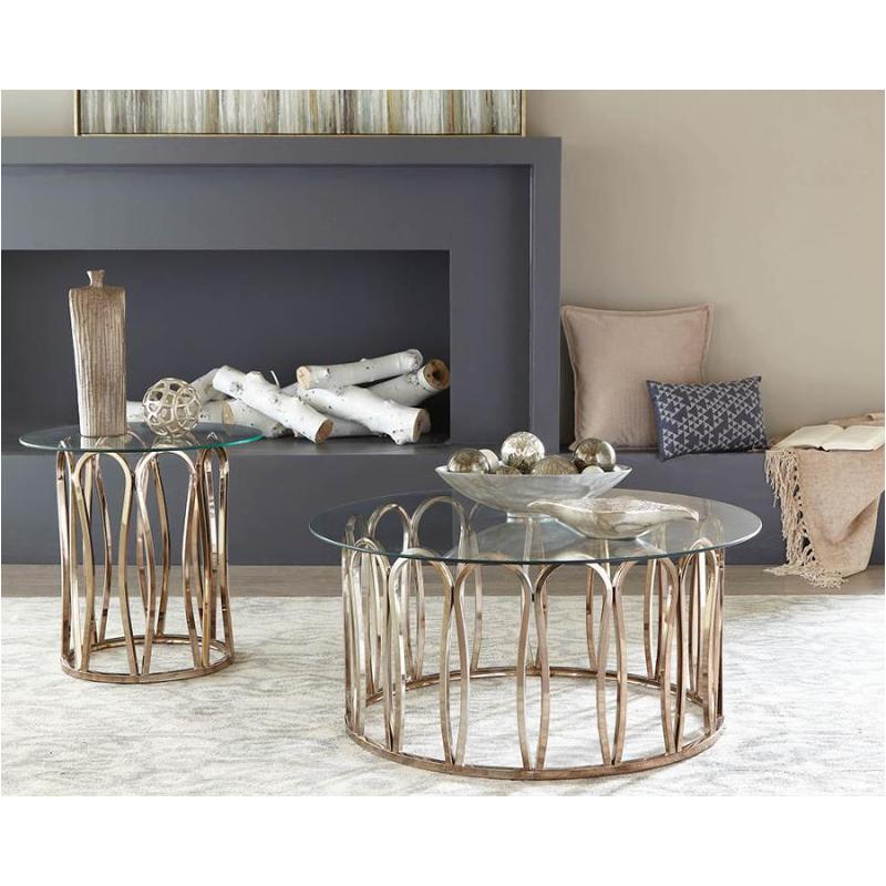 705788 Coaster Furniture Hemet Coffee Table With Regard To Coaster Company Silver Glass Coffee Tables (Image 3 of 25)