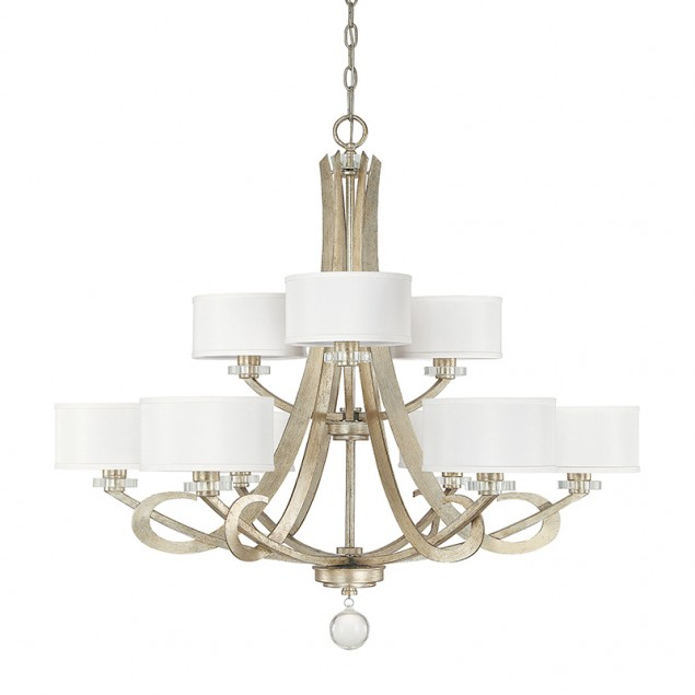 9 Light Chandelier | Capital Lighting Fixture Company Intended For Mcknight 9 Light Chandeliers (Photo 16 of 20)