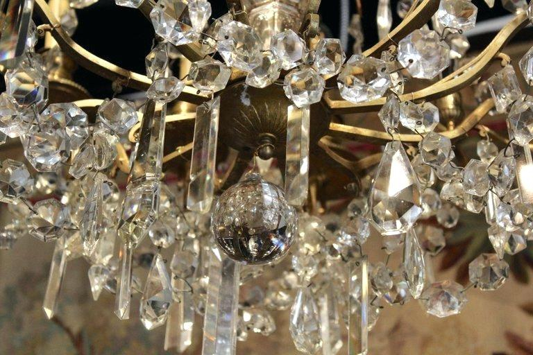 9 Light Crystal Chandelier For Mcknight 9 Light Chandeliers (Photo 10 of 20)