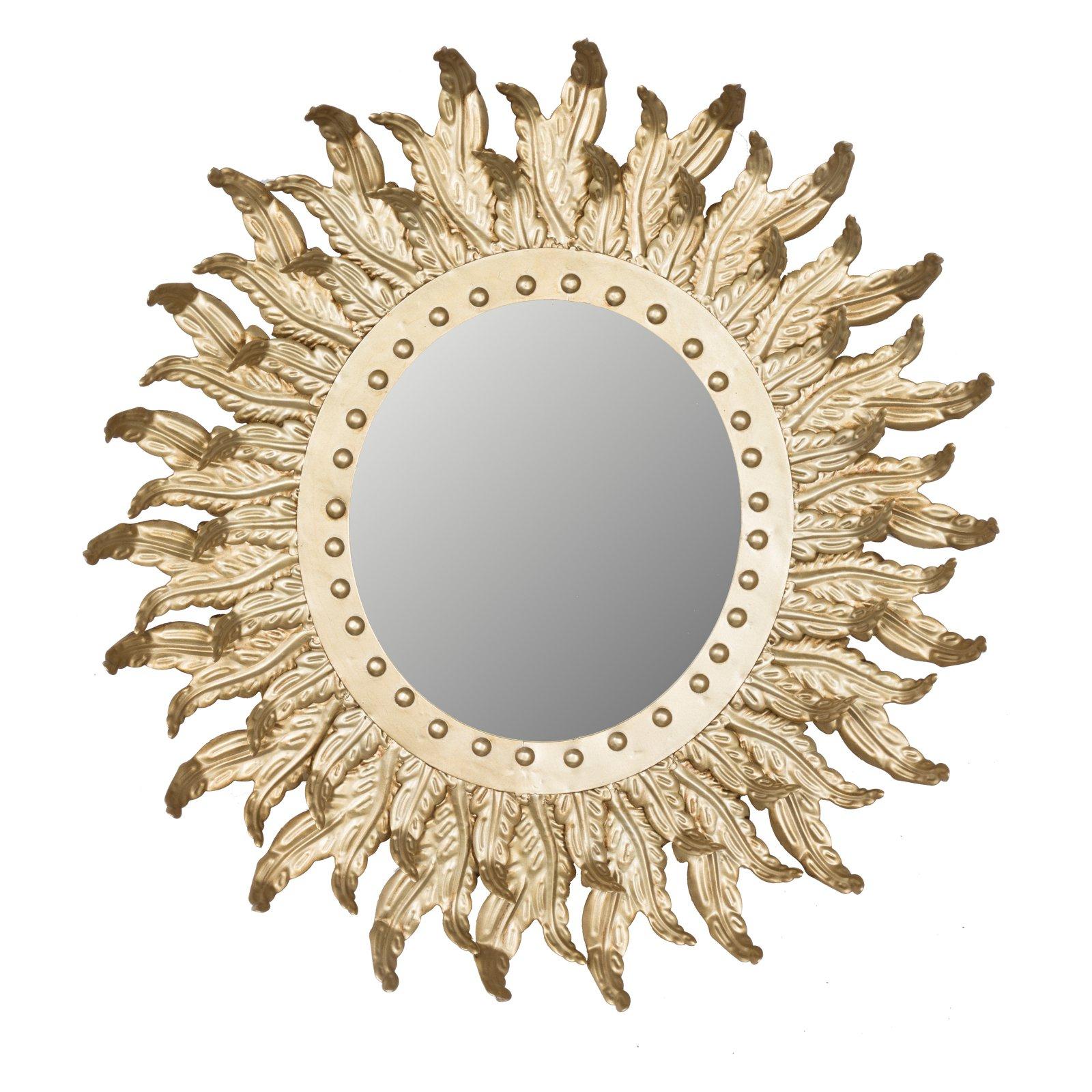 A & B Home Hemmingways Sun Burst Wall Mirror – 20.5W X  (View 16 of 20)