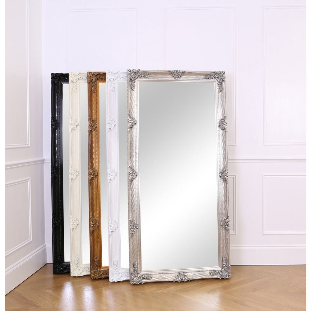 Abbey Leaner Mirror – Silver Leaf Pertaining To Leaning Mirrors (View 9 of 20)