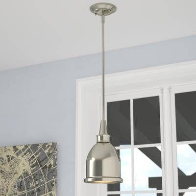 Abernathy 1 Light Dome Pendant In 2019 | Stuff | Ceiling Regarding Abernathy 1 Light Dome Pendants (Image 2 of 25)