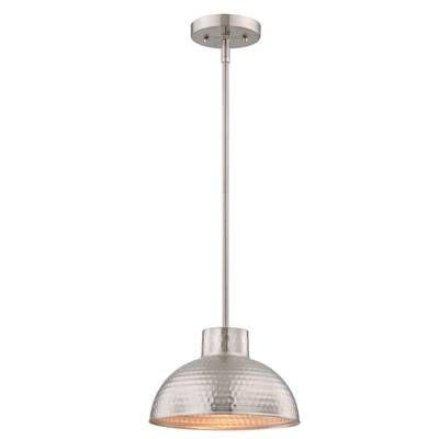 Abernathy 1 Light Dome Pendant In 2019 | Stuff | Kitchen With Abernathy 1 Light Dome Pendants (Image 3 of 25)