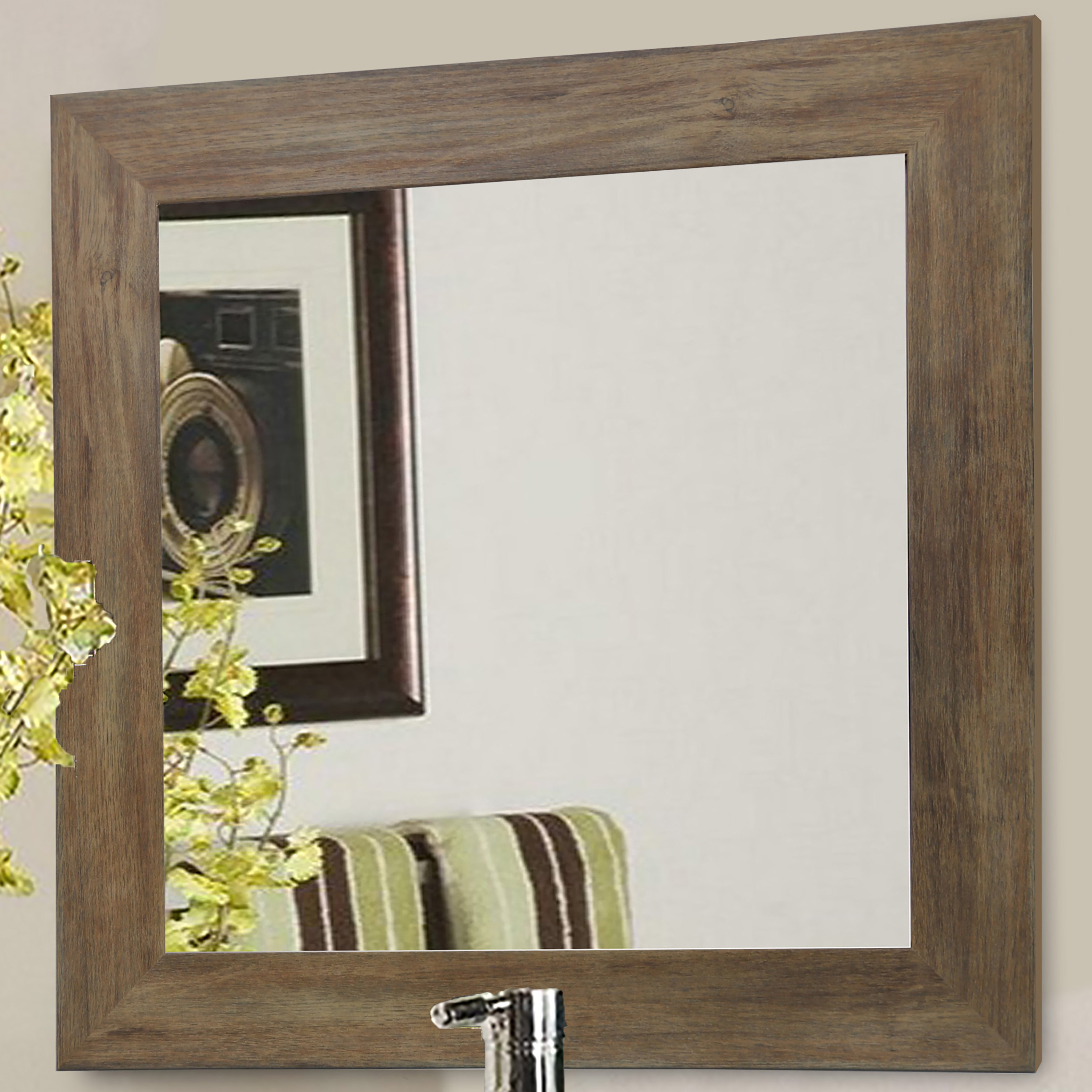 Abhay Traditional Beveled Wall Mirror For Traditional Beveled Wall Mirrors (View 16 of 20)