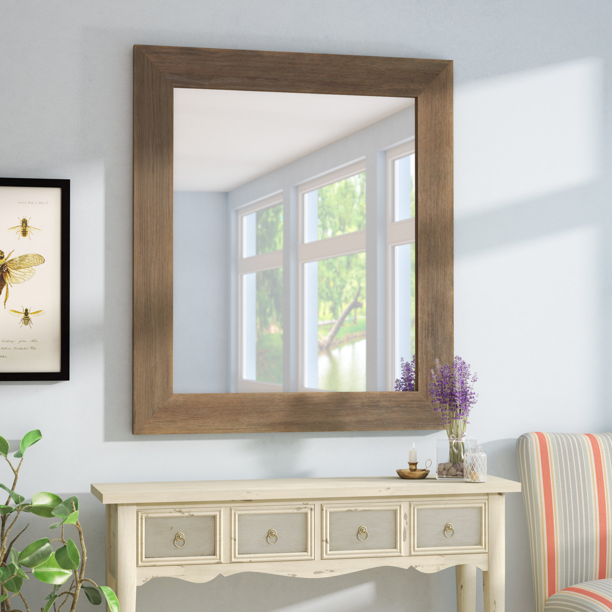 Accent Mirror With Laurel Foundry Modern & Contemporary Accent Mirrors (View 4 of 20)