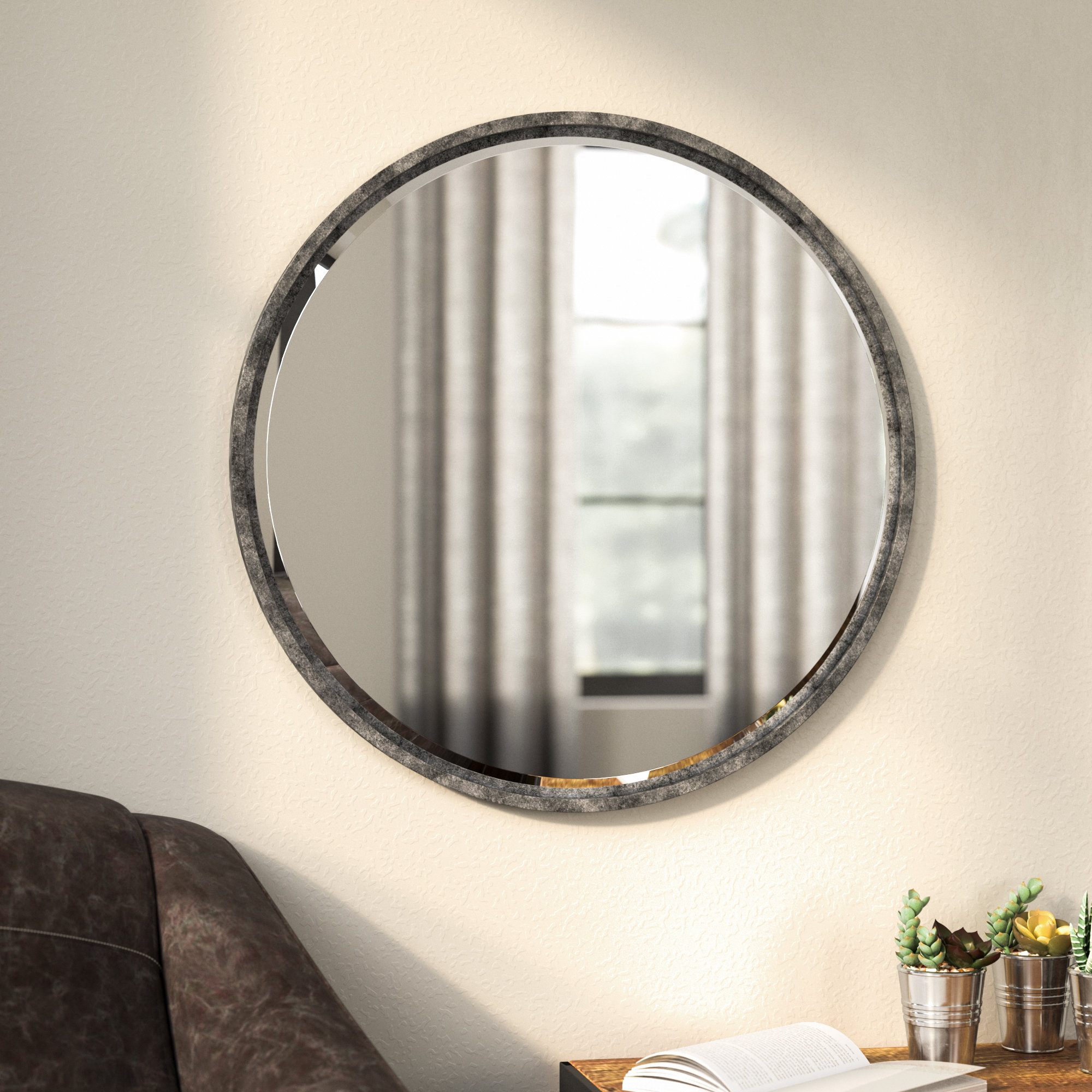 Accent Mirror Within Charters Towers Accent Mirrors (Image 2 of 20)