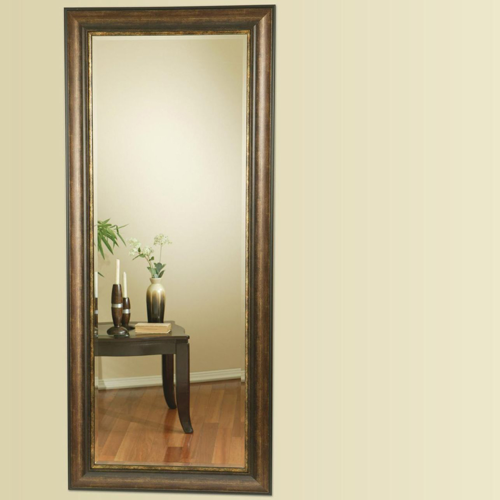 Accent Mirrors Long Floor Mirror Walmart For Bedrooms With Regard To Wood Accent Mirrors (View 13 of 20)