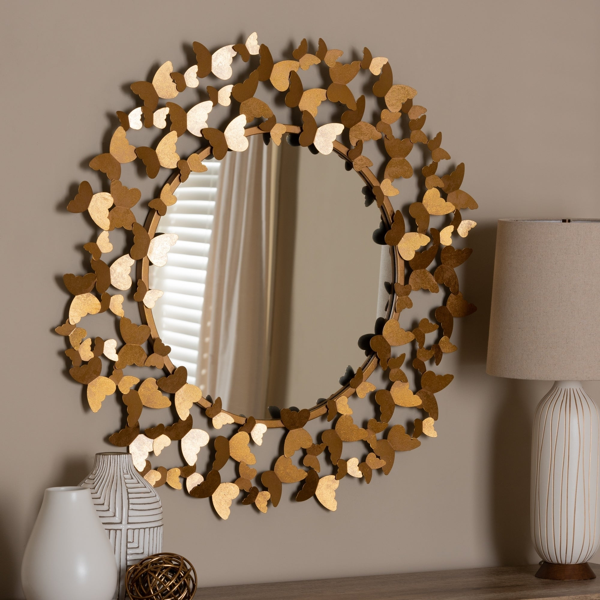 Accent Mirrors | Shop Online At Overstock With Derick Accent Mirrors (Image 5 of 20)