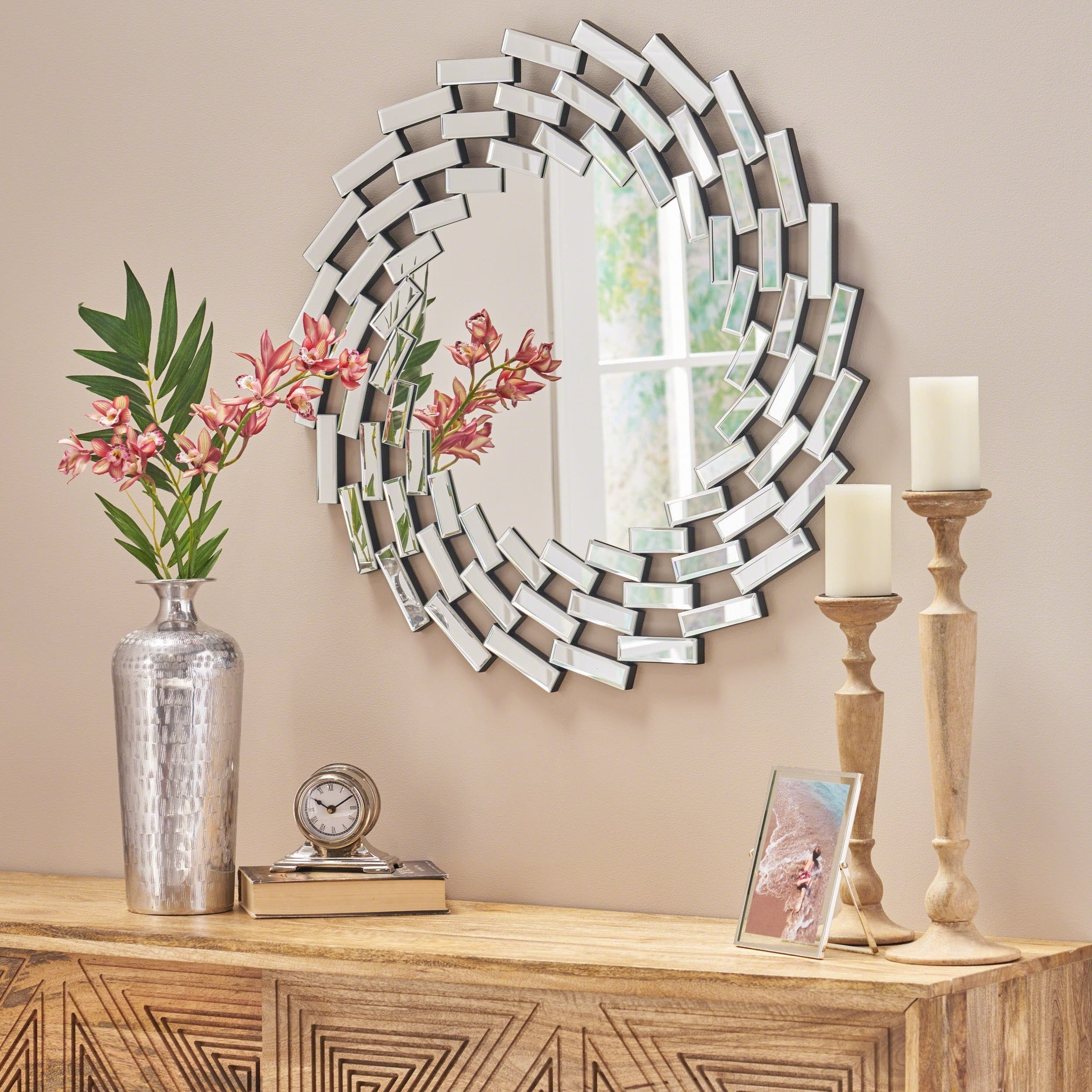 Accent Mirrors | Shop Online At Overstock With Derick Accent Mirrors (Image 4 of 20)