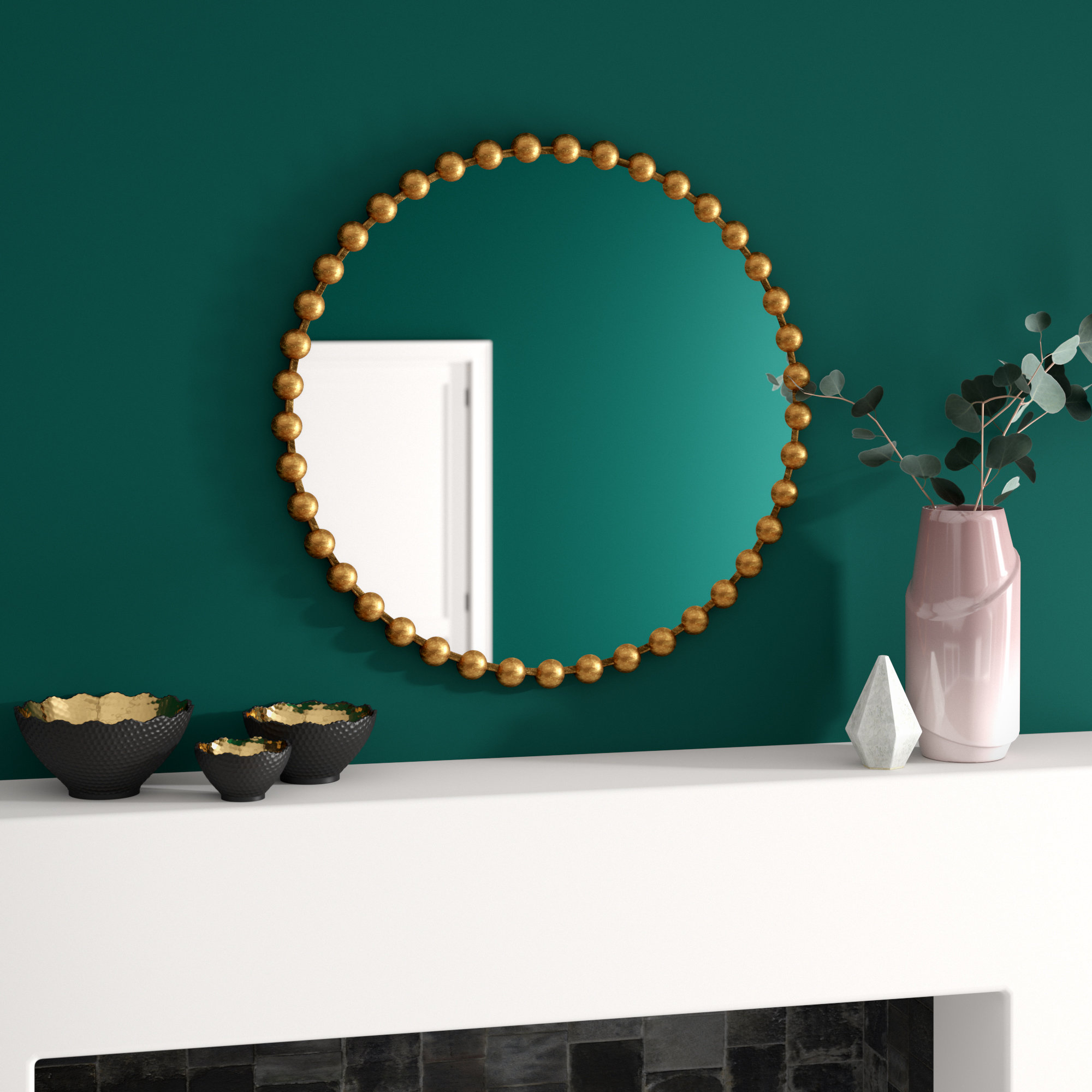 Accent Round Mirrors You'll Love In 2019 | Wayfair In Trigg Accent Mirrors (View 19 of 20)