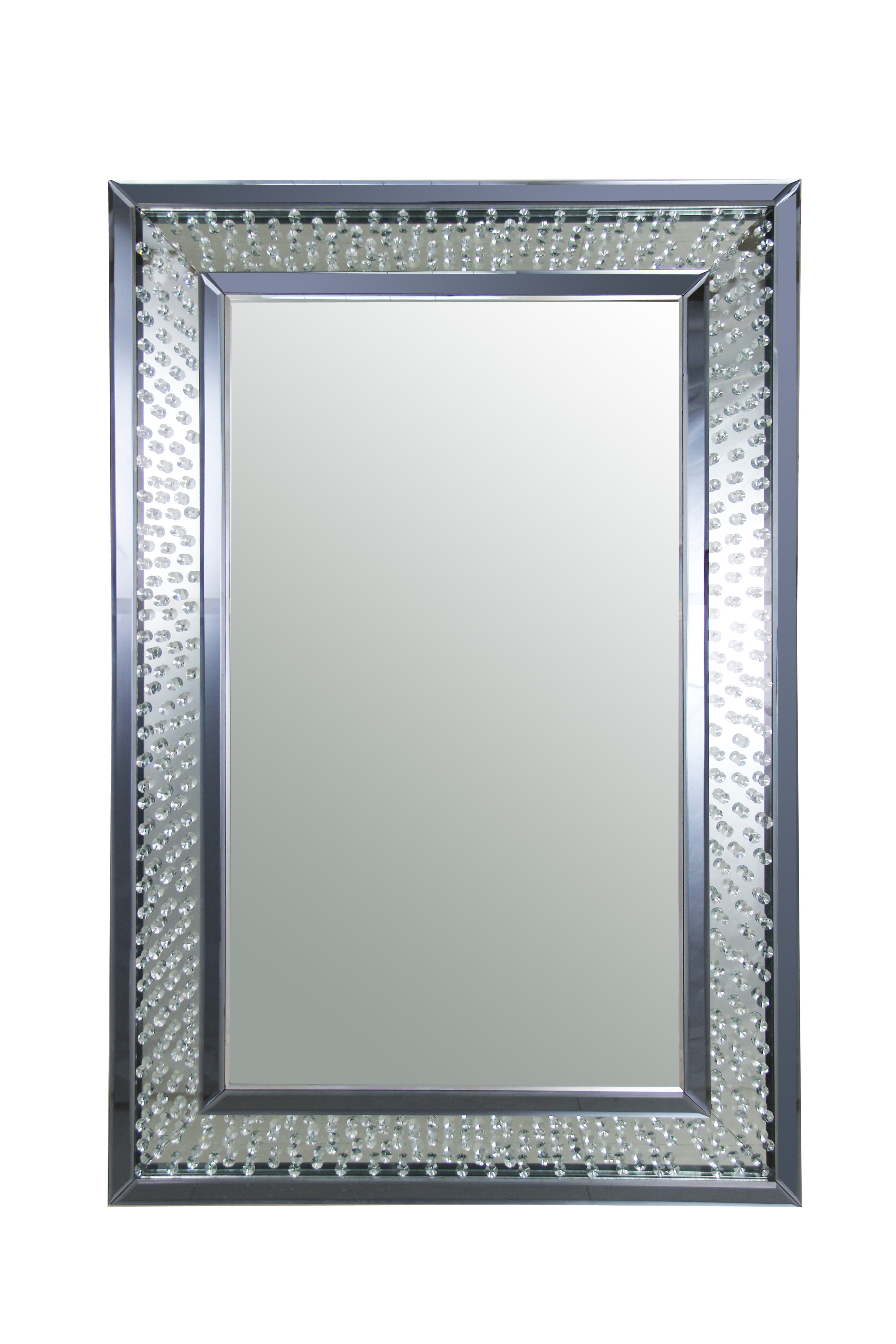 Acme Furniture Nysa Accent Wall Mirror Inside Accent Wall Mirrors (Image 3 of 20)