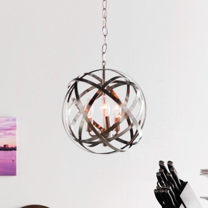 Featured Image of Adcock 3 Light Single Globe Pendants